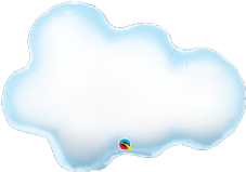 Cloud Super Shape Foil Balloon